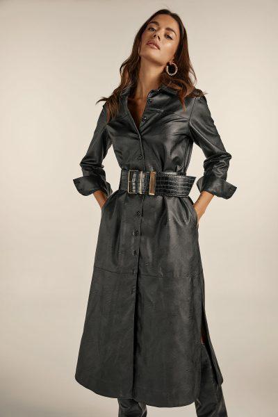 Chemisie Eco Leather Dress