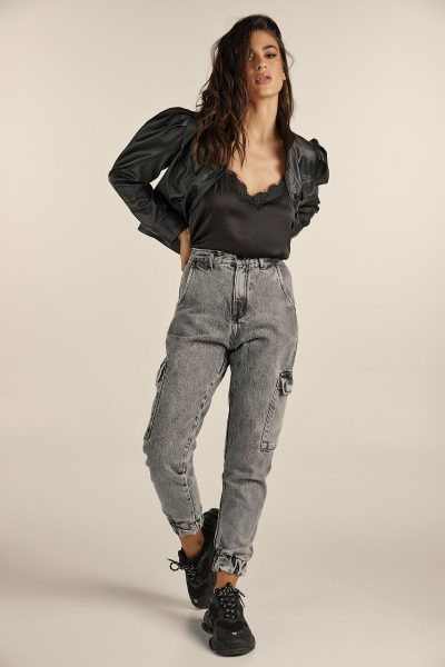 Cargo Denim – Grey