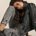 Black Eco Leather Jacket