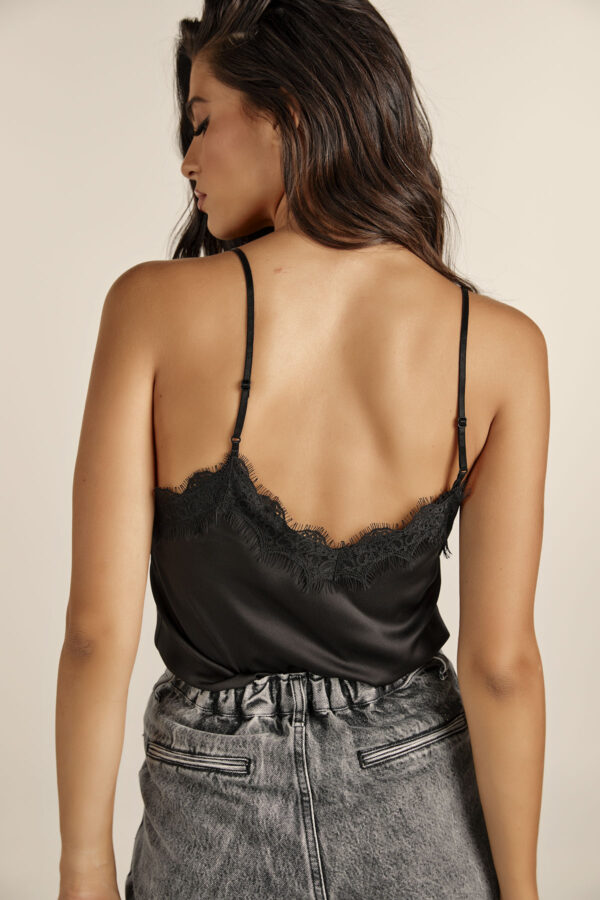 Lingerie Top – Black