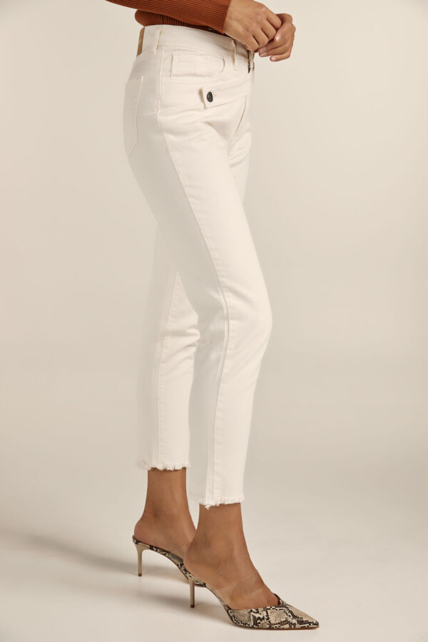 Stenia Denim – Cream