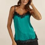 Lingerie Top – Emerald