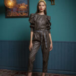 Evridiki Leather Pants