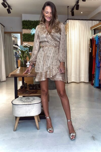 Champagne Mini Dress
