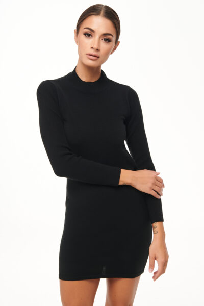 Backless Knit Dress