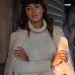 Tweed Cream Coat