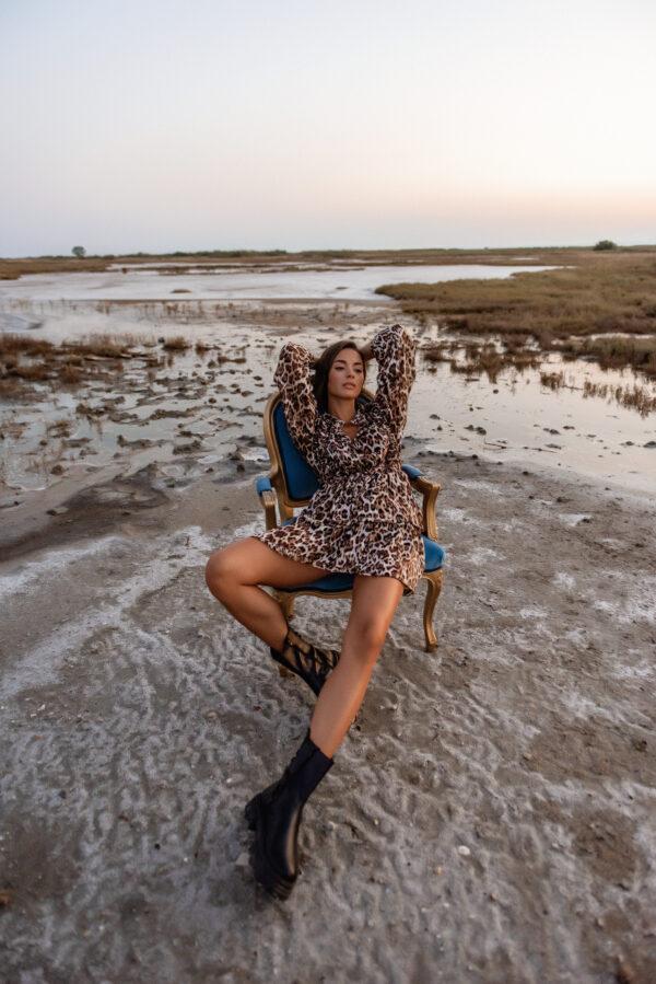 Leopard Mini Dress