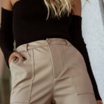 Loose Fit Leather Pants – Fango