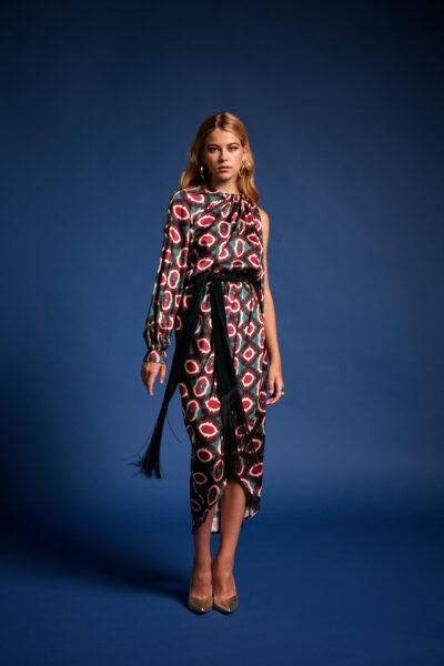 One Shoulder Zoe Dress