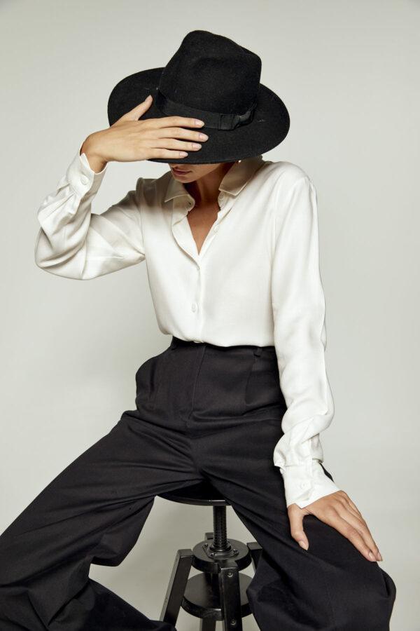 White Soft Shirt