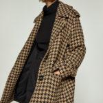 Pied De Poule Coat