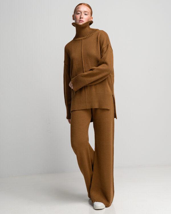 Camel Knit Set