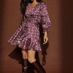 Berry Mini Dress