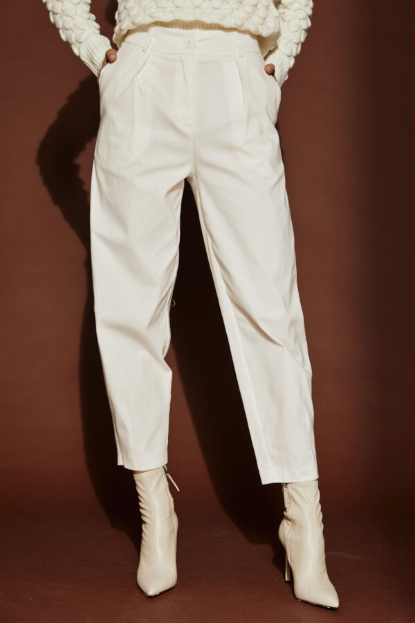Slouchy Pants – White