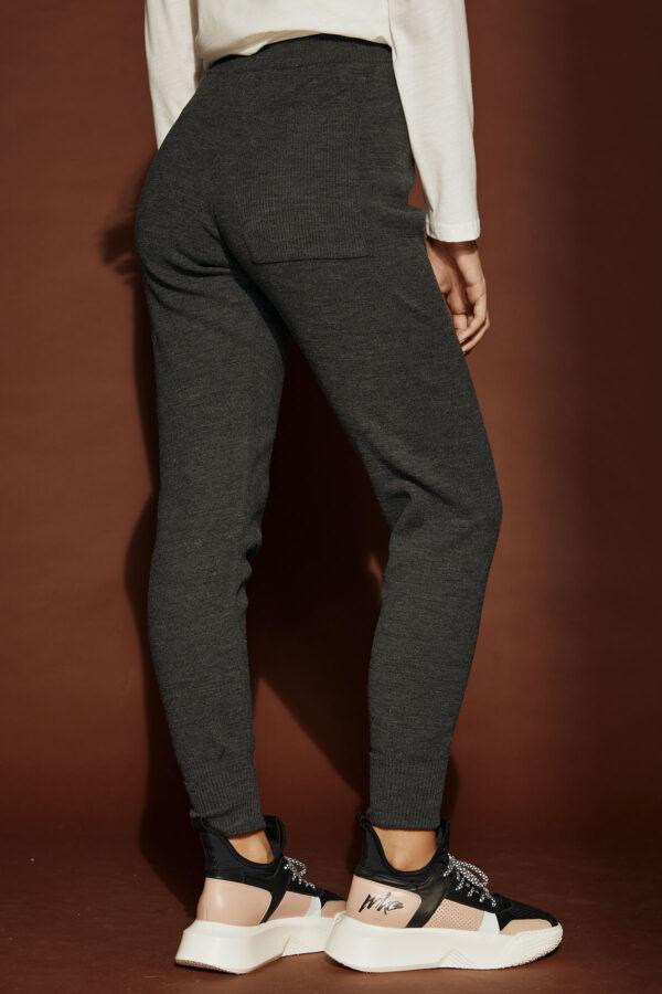 Knit Jogger Pants – Grey
