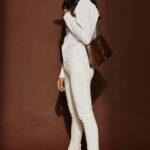 Straight Highwaist Pants – White