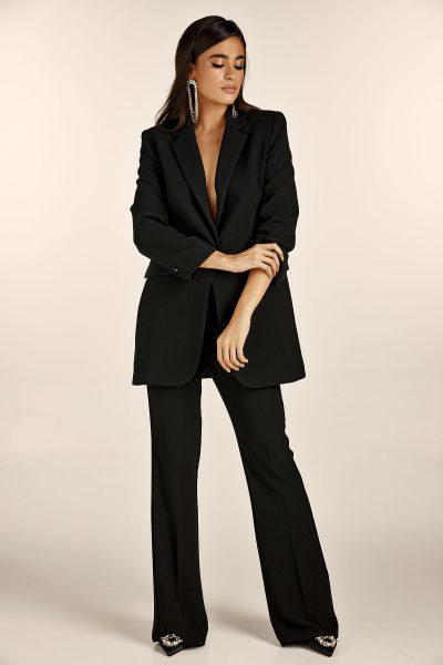 Oversize Blazer – Black