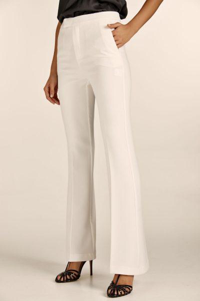 Bell Pants – White