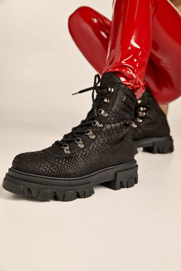 Kameron Black Booties