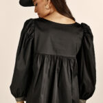 Matilda Shirt Top – Black