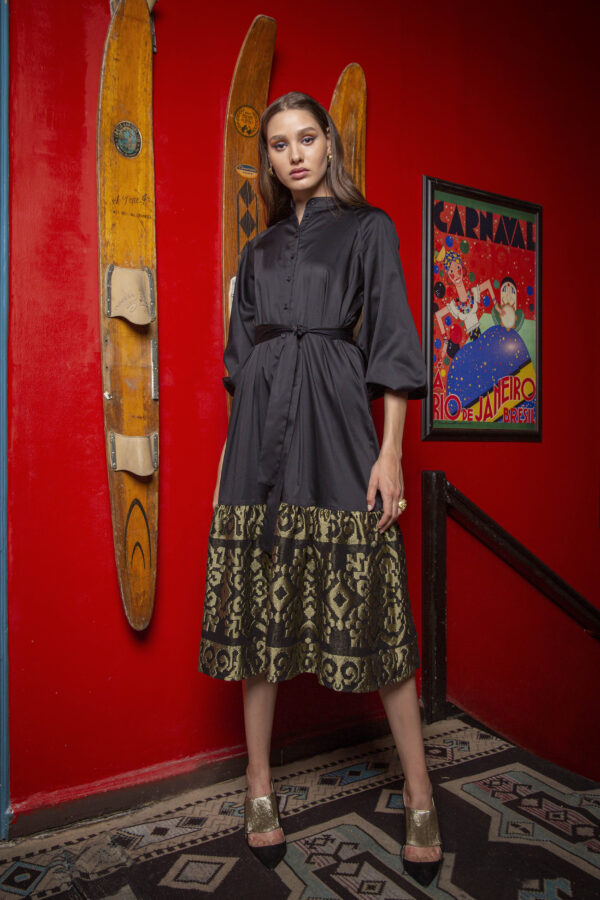 Caroline Shirtdress With Embroidery