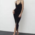 Velvet Pencil Dress