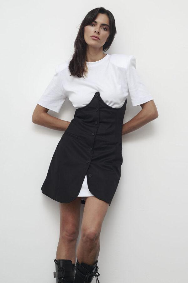 Corset Dress – Black