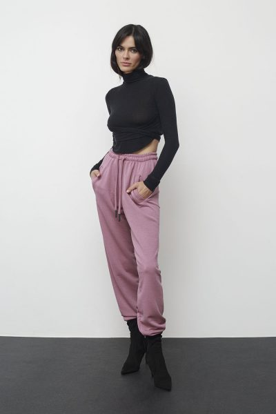 Jogger Sweatpants – Dusty Pink