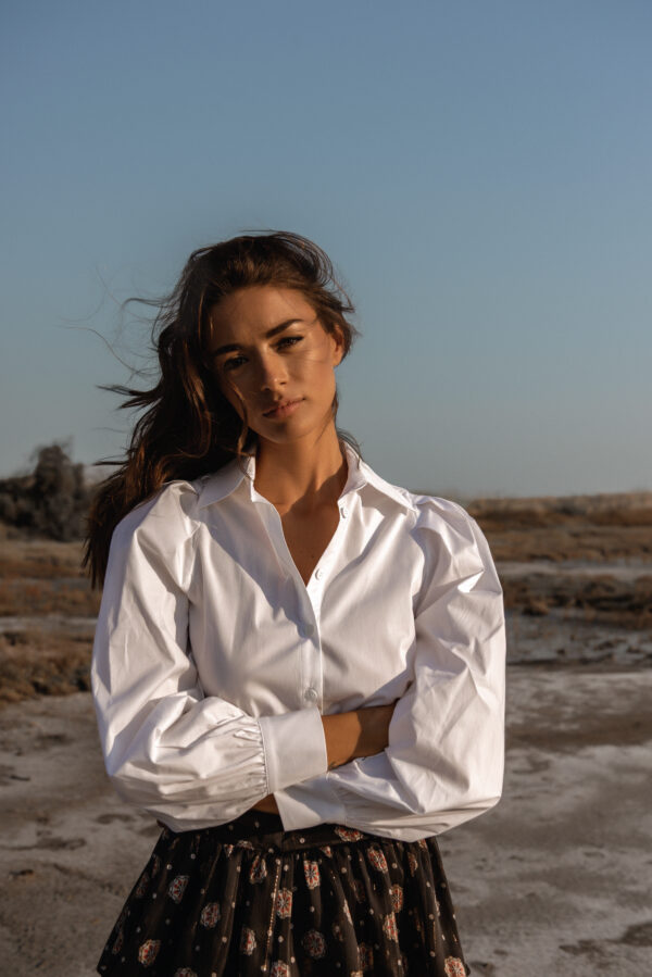 Padded Shirt – White