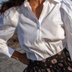 Padded Shirt – White