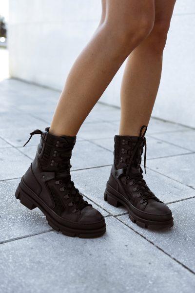 A8 Multi Black Biker Boots