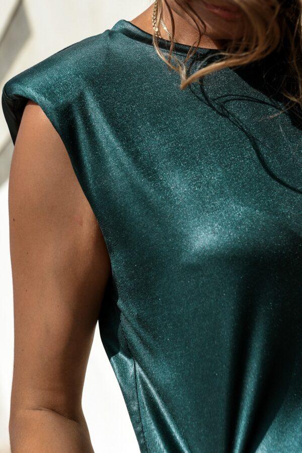 Sleeveless Top – Green