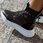 G16 Black Sock Sneakers