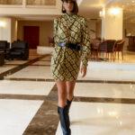 Renee Dress – Geo Print