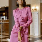 Luisa Dress – Dusty Pink