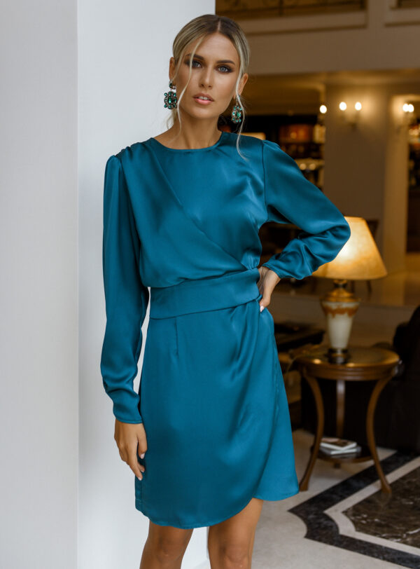 Luisa Dress – Emerald
