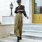 Barbara Skirt – Geo Print