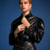 Leather Shirt – Black