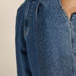 Slouchy Denim – Mid Blue