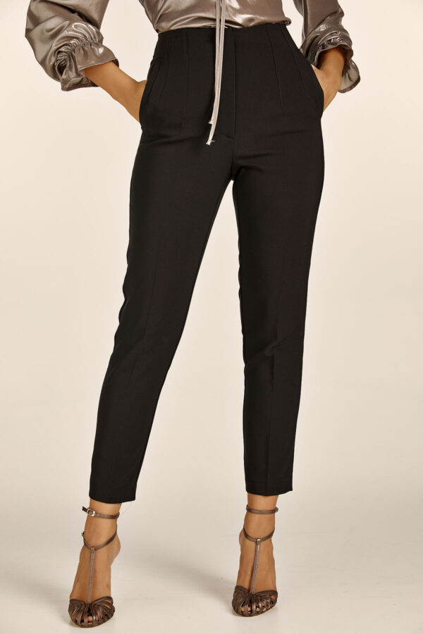 Black Highwaist Cigar Pants