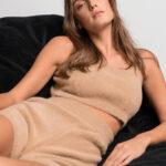 Soft Knit Loungewear Set – Camel