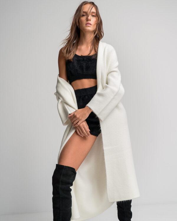 Soft Knit Loungewear Set – Black