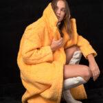 Teddy Coat – Yellow