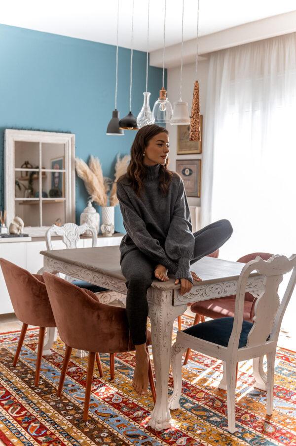 Oversized Grey Sweater