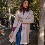 Powder Pink Oversized Coat