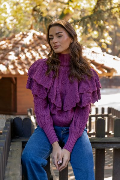 Princess Knit – Magenta