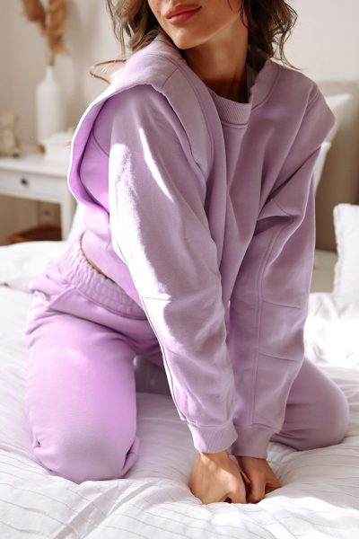 Space Sweater Set – Lilac