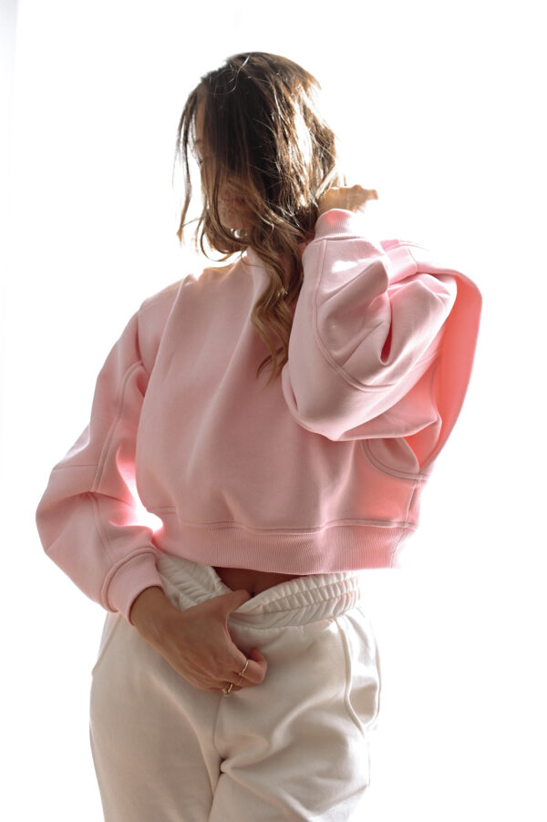 Space Sweater – Baby Pink