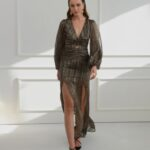 Corinne Animal Print Dress
