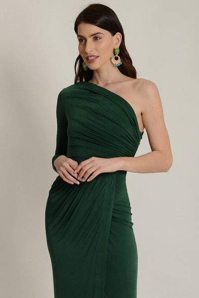 Paris Green Dress